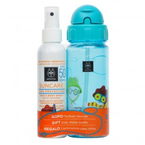 APIVITA SUN KID GYEREK SPRAY SPF50 + KULACS - 150 ML