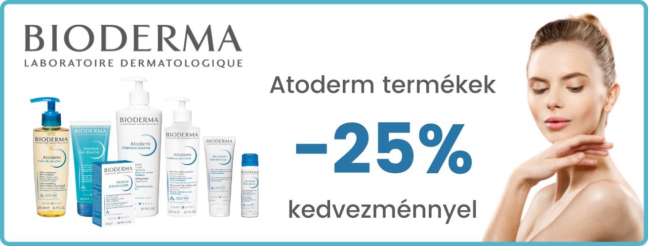 Bioderma Atoderm 25% kedvezmény