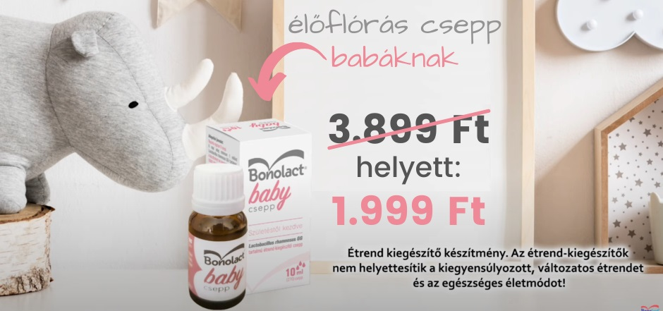Bonolact Baby Csepp 10 ml