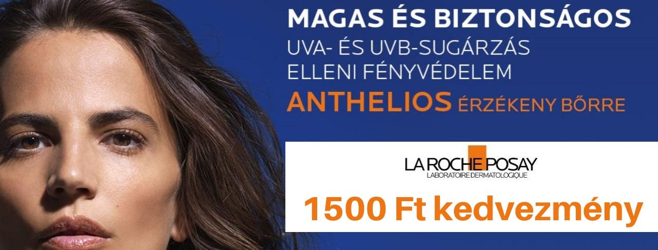 La Roche-Posay Anthelios - 1500 Ft kedvezmény