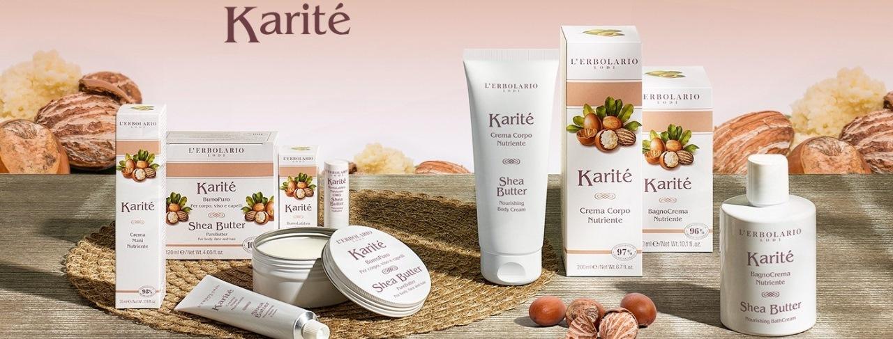 L'Erbolario - Karité - Shea Vaj termékcsalád