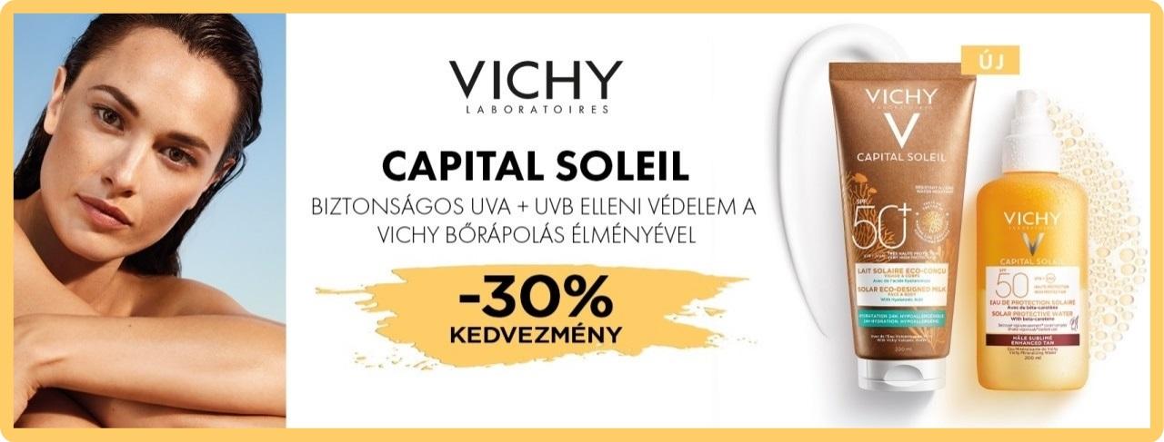 Vichy Capital Soleil 30% kedvezmény