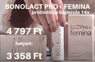 Bobolact Pro+ Femina probiotikus kapszula 14x