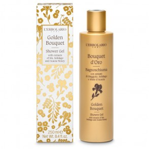 LERBOLARIO GOLDEN BOUQUET TUSFÜRDŐ - 250 ML