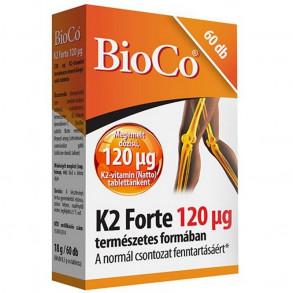 BIOCO K2 FORTE 120 MCG TABLETTA - 60 X