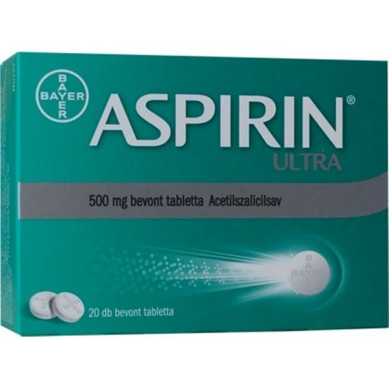 ASPIRIN ULTRA 500MG BEVONT TABLETTA - 20X