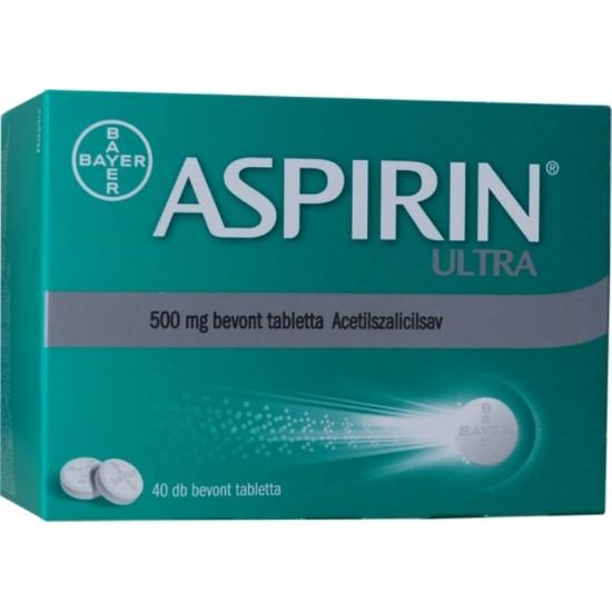 ASPIRIN ULTRA 500MG BEVONT TABLETTA - 40X