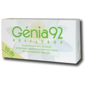 GENIA 92 HÜVELYKÚP - 10 X