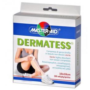 MASTER AID DERMATESS STANDARD MULL LAP 10 X 10 CM - 100X