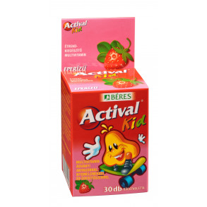 BÉRES ACTIVAL KID EPER RÁGÓTABLETTA - 30X