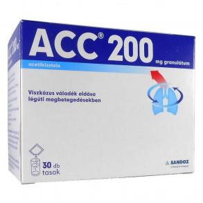 ACC 200 MG GRANULÁTUM - 30 X 3 G