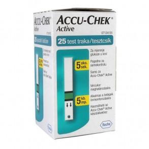 ACCU-CHEK ACTIVE TESZTCSÍK - 25X