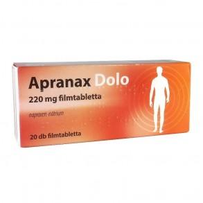 APRANAX DOLO 220 MG FILMTABLETTA - 20X