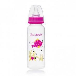 BABY BRUIN POLIPROPILÉN CUMISÜVEG BPA MENTES 240 ML - 1X