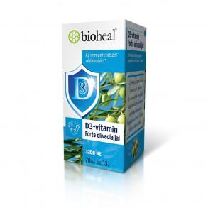 BIOHEAL D3-VITAMIN FORTE OLÍVAOLAJJAL 3200 NE KAPSZULA - 70X