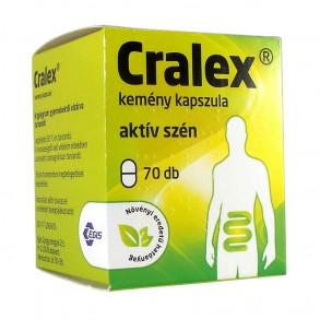 CRALEX KEMÉNY KAPSZULA - 70X