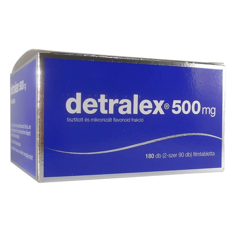 Detralex kezelés prosztatitis)