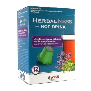 HERBALNESS HOT DRINK INSTANT ITALPOR C-VITAMINNAL KAPSZULA - 12X