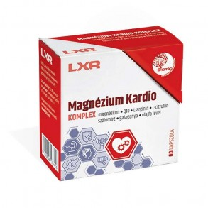 LXR MAGNÉZIUM KARDIO KOMPLEX KAPSZULA - 60X