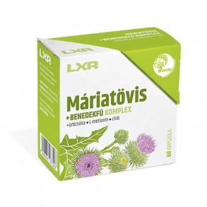 LXR MÁRIATÖVIS KOMPLEX KAPSZULA - 60X