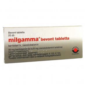 MILGAMMA BEVONT TABLETTA - 20X BUB