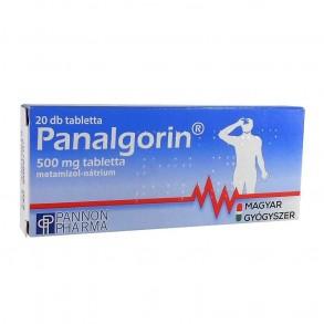 PANALGORIN 500 MG TABLETTA - 2 X 10X