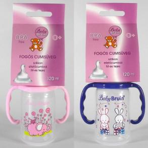 BABY BRUIN FOGÓS CUMISÜVEG, POLIPROPILÉN, BPA MENTES, 120 ML - 1X