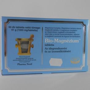 BIO-MAGNÉZIUM TABLETTA - PHARMA NORD - 60X