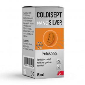 COLDISEPT NANOSILVER FÜLCSEPP - 15 ML