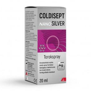 COLDISEPT NANOSILVER TOROKSPRAY - 20 ML