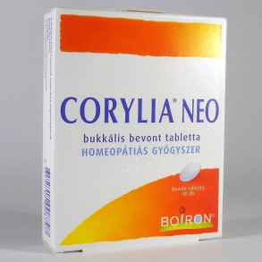CORYLIA NEO BUKKÁLIS BEVONT TABLETTA - 40X