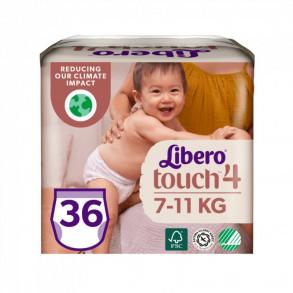 LIBERO TOUCH 4 BUGYIPELENKA 7-11 KG - 36X