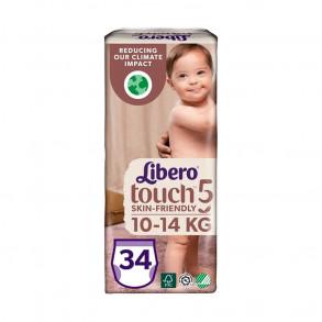 LIBERO TOUCH 5 BUGYIPELENKA 10-14 KG - 34X