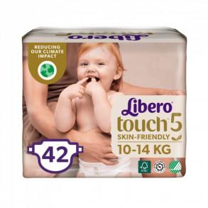LIBERO TOUCH 5 JUMBO NADRÁGPELENKA 10-14 KG - 42X