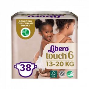 LIBERO TOUCH 6 JUMBO NADRÁGPELENKA 13-20 KG - 38X