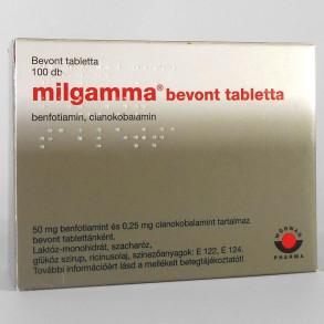 MILGAMMA BEVONT TABLETTA - 100X BUB