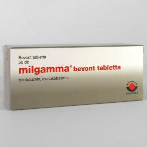 MILGAMMA BEVONT TABLETTA - 50X BUB
