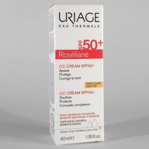 URIAGE ROSÉLIANE CC KRÉM SPF50 ROSACEA ELLEN - 40 ML
