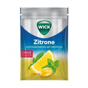 WICK TOROKCUKOR CITROM MENTOL - 72 G