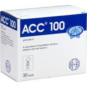 ACC 100 MG GRANULÁTUM - 30 X 3 G