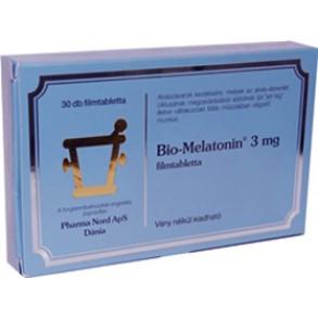 BIO-MELATONIN 3MG FILMTABLETTA - 30X BUB