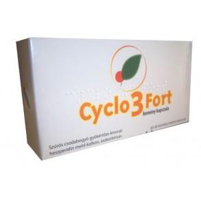CYCLO 3 FORT KEMÉNY KAPSZULA - 60X