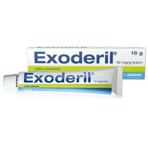 EXODERIL 10MG/G KRÉM - 1X15G