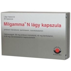 MILGAMMA N LÁGY KAPSZULA - 20X