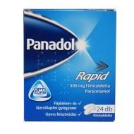PANADOL RAPID 500MG FILMTABLETTA - 24X BUB
