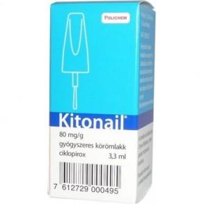 KITONAIL 80MG/G GYÓGYSZERES KÖRÖMLAKK - 3,3ML