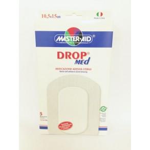 MASTER AID DROP MED GÉZPÁRNA ST. 10,5 X 15 CM - 5 X