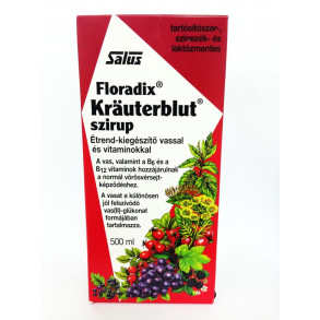 KRAUTERBLUT-S SZIRUP SALUS-HAUS - 500 ML