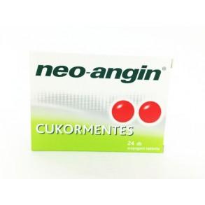 NEO-ANGIN  CUKORMENTES BUKKÁLIS TABLETTA - 24X