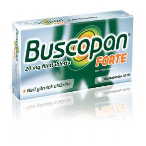 BUSCOPAN FORTE 20MG FILMTABLETTA - 10X BUB